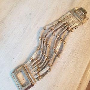 Nordstrom Gold Clasp Strand Bracelet